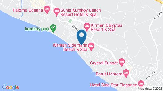 Trendy Palm Beach - All Inclusive Map