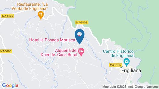 La Posada Morisca Map