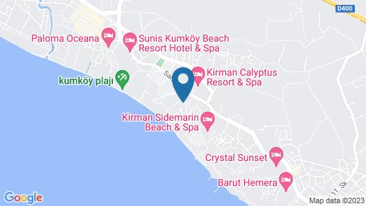 Iz Flower Side Beach Hotel - All Inclusive Map