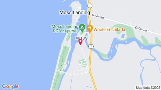 Captain's Inn at Moss Landing Map