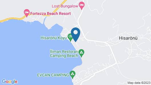 Hisaronu Ucpa Hotel Map