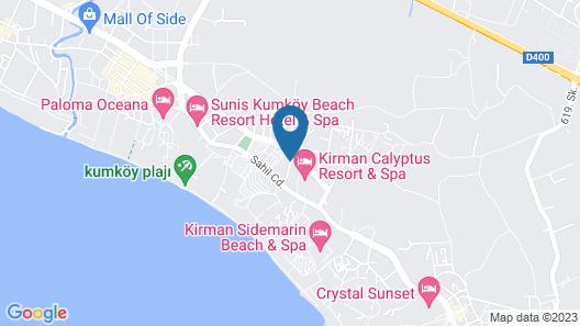 Kaya Apart Hotel Side Map
