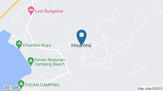 Angora Motel & Camping & Restaurant Map