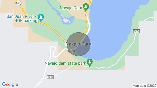 Within Minutes to San Juan Quality Waters and Navajo Lake Map