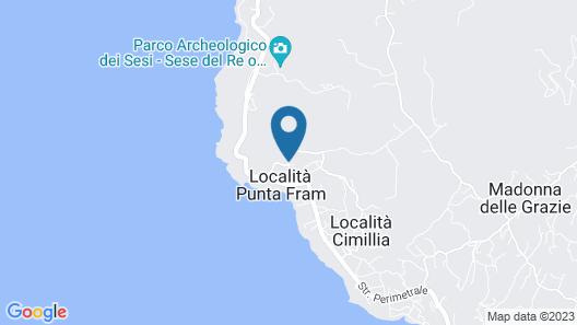 Villaggio Punta Fram Map