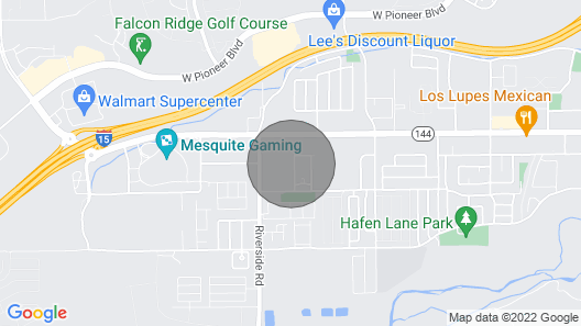 Peaceful Mesquite Getaway - Sleeps 6 Map