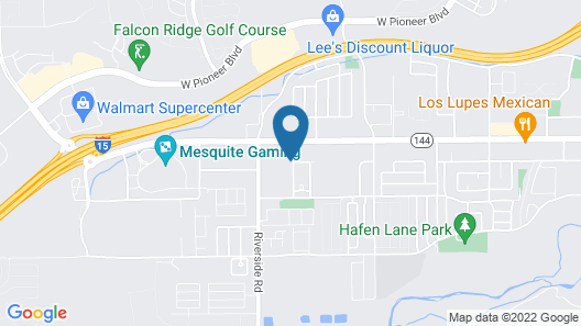 3 Bedroom in Mesquite #376 - 3 Br Condo Map