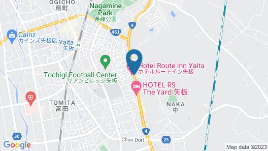 Hotel Route-Inn Yaita Map