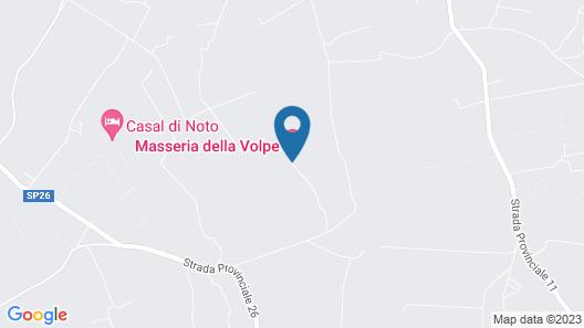 Masseria della Volpe Map