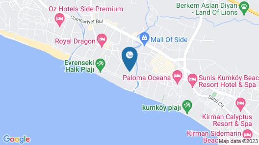 The Sense De Luxe Hotel – All Inclusive Map