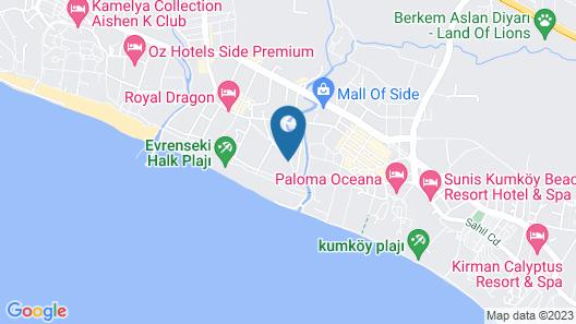 Sensimar Side Resort & Spa – All Inclusive Map