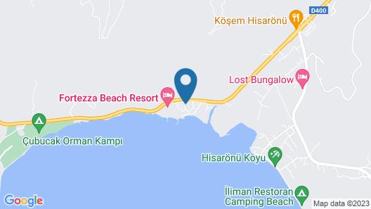 Marmaris Resort Deluxe Hotel Map