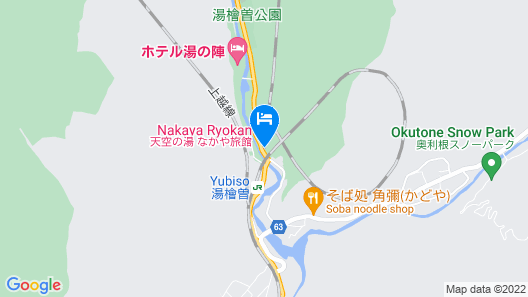 Nakaya Ryokan Map