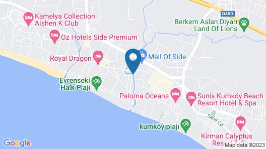 Luna Blanca Resort & Spa - All Inclusive Map