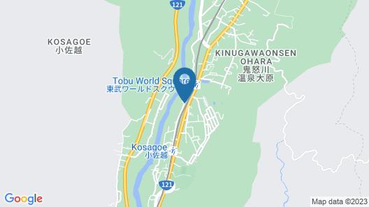Hotel Harvest Kinugawa Map