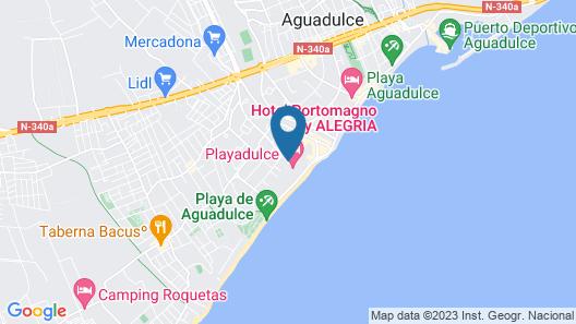 Playadulce Hotel Map