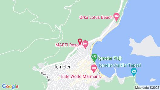 Marti Resort Hotel Map