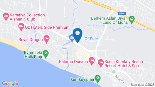 Dream World Aqua Hotel - All Inclusive Map