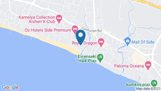 Seashell Resort & Spa Map