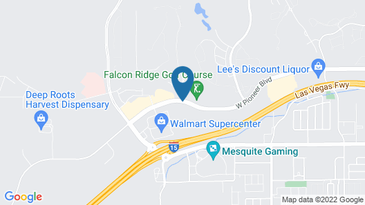 Holiday Inn Express Hotel & Suites Mesquite Map