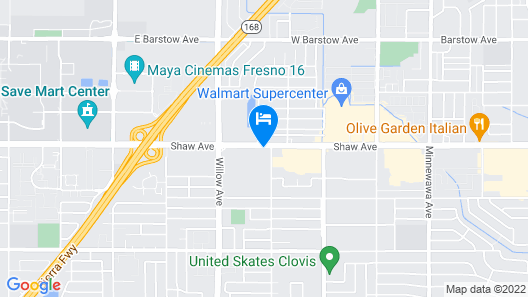 Holiday Inn Express® Hotel Clovis / Fresno, an IHG Hotel Map
