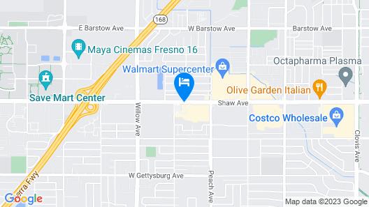 Hilton Garden Inn Clovis Map