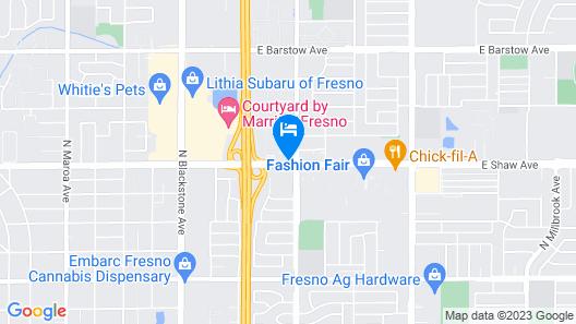 Ramada by Wyndham Fresno North Map