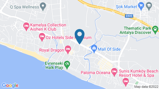 Side Crown Palace Map