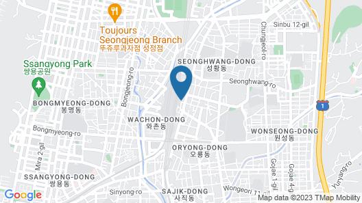 Metro Tourist Hotel Map