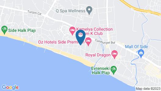 Side Sungate Hotel & Spa - All Inclusive Map