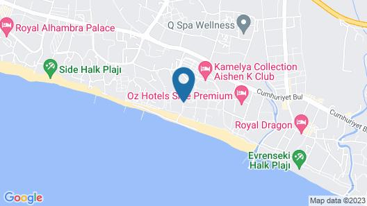 Kamelya Aishen K Club All Inclusive- Ex K Club Map