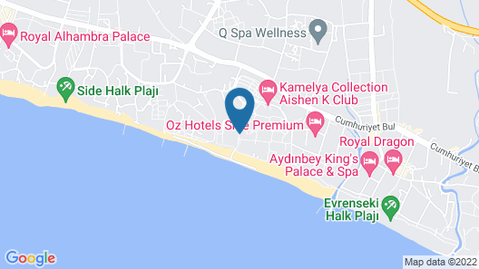 Kamelya K Club - All Inclusive  Map