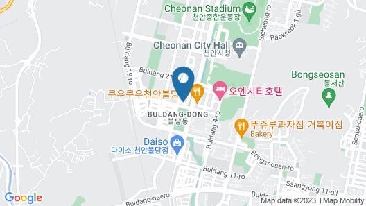 Dal Hotel Map