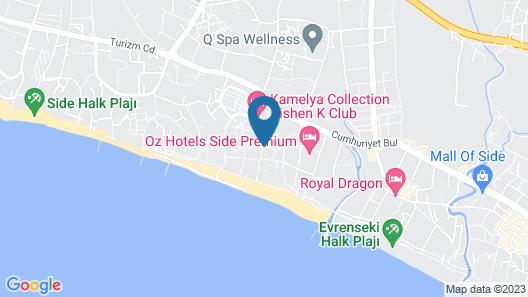 Kamelya Fulya Hotel - All Inclusive Map