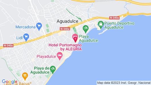 Hotel Portomagno Map