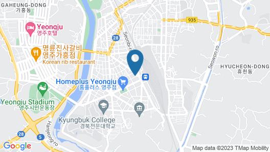 Yeongju Alto Hotel Map