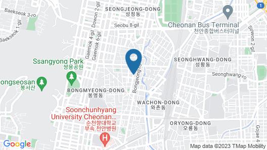 No.25 Hotel Map