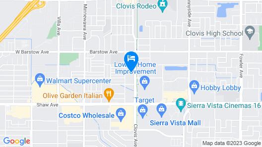 La Quinta Inn & Suites by Wyndham Clovis CA Map