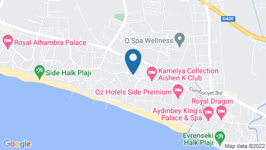 Kamelya Collection at the K Club Map