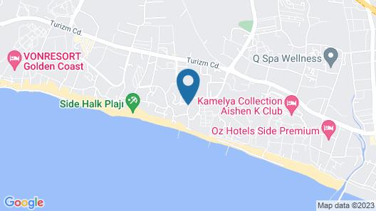 Alba Queen Hotel - All Inclusive Map