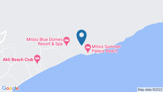 Mitsis Family Village Beach Hotel - All Inclusive Map