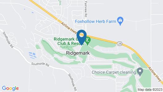 RIDGEMARK GOLF CLUB and RESORT Map