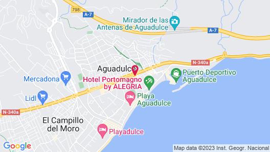 Aguadulce Map
