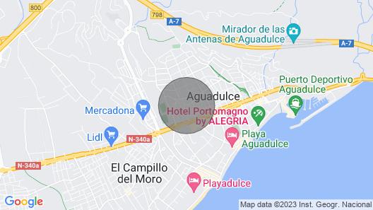 Gaviotas Apartment 4 Map