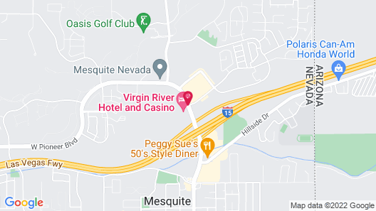 Virgin River Hotel and Casino Map
