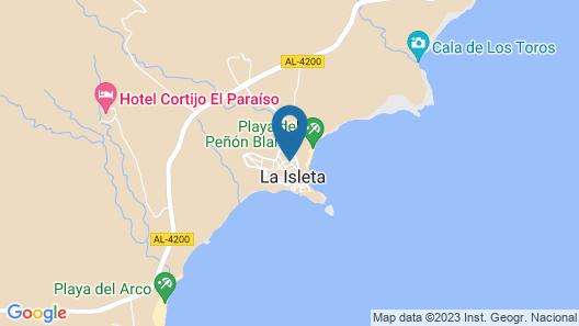 Apartment in La Isleta del Moro, Cabo de Gata Map
