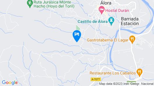 RENTHAS El Capricho Casa Rural- Caminito del Rey Map