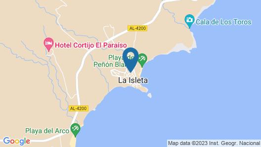 Apartamento en la Isleta del Moro Map