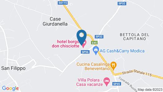Borgo Don Chisciotte Map