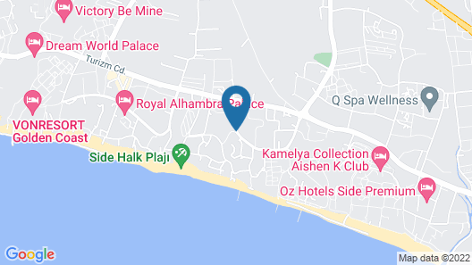 Alba Royal Hotel - All Inclusive - Adults Only Map
